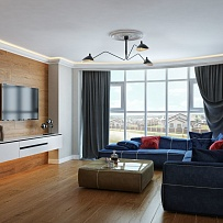 Admiral water house apartmen D035 Апартаменты 83м2